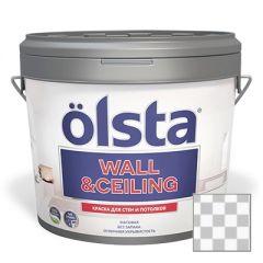 Краска интерьерная Olsta Wall and Ceiling Прозрачная 2,7 л