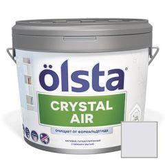 Краска интерьерная Olsta Crystal Air 127A Geyser 0,9 л
