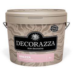 Декоративное покрытие Decorazza Brezza с эффектом песчаных вихрей 5 л