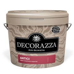 Декоративное покрытие Decorazza Antici с эффектом старинных стен серебро 1 л