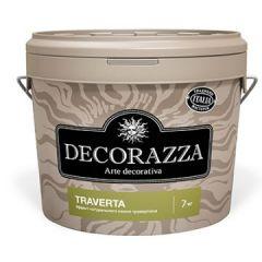 Декоративное покрытие Decorazza Traverto с эффектом травертина 7 кг