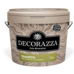 Декоративное покрытие Decorazza Traverto с эффектом травертина 15 кг
