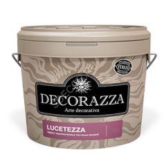 Декоративное покрытие Decorazza Lucetezza с перламутровым эффектом и доб. кварцевых гранул 5 л