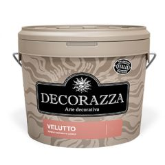 Декоративное покрытие Decorazza Velutto с эффектом матового шелка 1 л