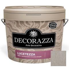 Декоративное покрытие Decorazza Lucetezza Argento (LC 11-96) 1 л
