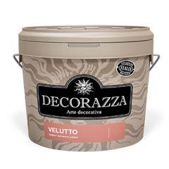 Декоративное покрытие Decorazza Velutto с эффектом матового шелка 5 л