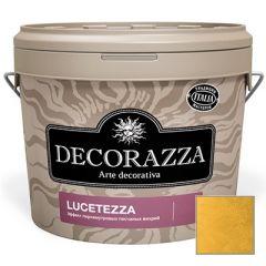 Декоративное покрытие Decorazza Lucetezza Oro (LC 800) 1 л