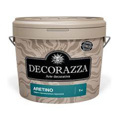 Декоративное покрытие Decorazza Aretino с перламутровым эффектом 5 л