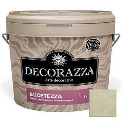 Декоративное покрытие Decorazza Lucetezza Argento (LC 11-90) 5 л