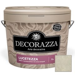 Декоративное покрытие Decorazza Lucetezza Argento (LC 11-93) 5 л