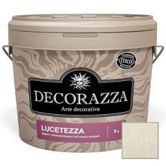 Декоративное покрытие Decorazza Lucetezza Argento (LC 11-94) 5 л