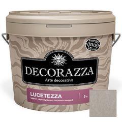Декоративное покрытие Decorazza Lucetezza Argento (LC 11-96) 5 л
