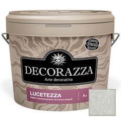 Декоративное покрытие Decorazza Lucetezza Argento (LC 11-98) 5 л