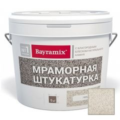 Декоративная мраморная штукатурка Bayramix Royal White-N 15 кг