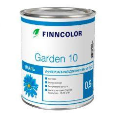 Эмаль алкидная Finncolor Garden 10 универсальная база А матовая 0,9 л