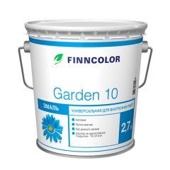 Эмаль алкидная Finncolor Garden 10 универсальная база А матовая 2,7 л