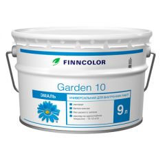 Эмаль алкидная Finncolor Garden 10 универсальная база C матовая 9 л